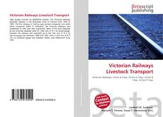 Victorian Railways Livestock Transport kitap kapağı