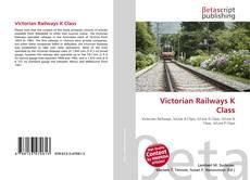 Portada del libro de Victorian Railways K Class