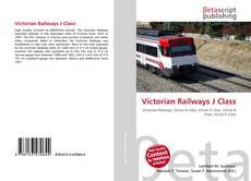 Portada del libro de Victorian Railways J Class