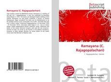 Portada del libro de Ramayana (C. Rajagopalachari)