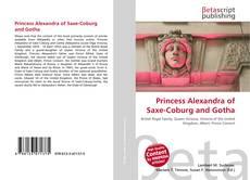 Bookcover of Princess Alexandra of Saxe-Coburg and Gotha