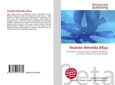 Buchcover von Vicente Almeida d'Eça