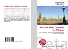 Buchcover von Princess Alice, Countess of Athlone