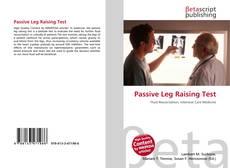 Bookcover of Passive Leg Raising Test
