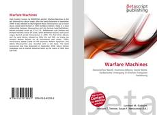 Bookcover of Warfare Machines
