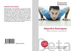 Portada del libro de Alejandro Domínguez