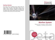 Copertina di Warfare System