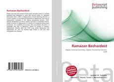 Bookcover of Ramazan Bashardost
