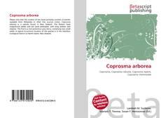 Bookcover of Coprosma arborea