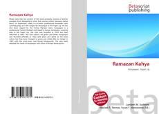 Bookcover of Ramazan Kahya