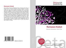 Bookcover of Ramazan Kubat