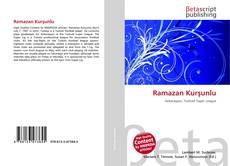 Bookcover of Ramazan Kurşunlu