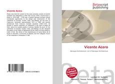Vicente Acero的封面