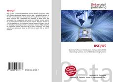 Bookcover of BSD/OS