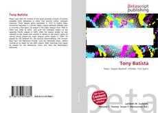 Bookcover of Tony Batista