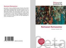 Bookcover of Ramazan Ramazanov