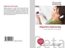 Bookcover of Alejandro Jodorowsky