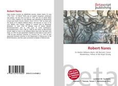 Bookcover of Robert Nares