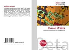 Passion of Spies的封面