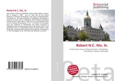 Capa do livro de Robert N.C. Nix, Sr.