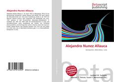Alejandro Nunez Allauca kitap kapağı