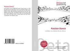 Passion Dance的封面
