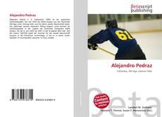 Bookcover of Alejandro Pedraz