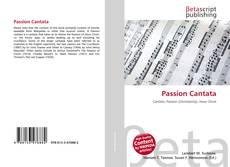 Portada del libro de Passion Cantata