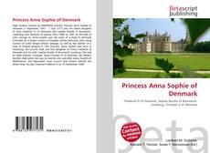 Princess Anna Sophie of Denmark的封面