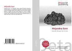 Bookcover of Alejandro Sanz