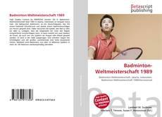Bookcover of Badminton-Weltmeisterschaft 1989