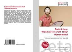 Bookcover of Badminton-Weltmeisterschaft 1989/Herreneinzel