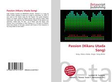 Passion (Hikaru Utada Song)的封面