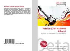 Passion (Geri Halliwell Album)的封面