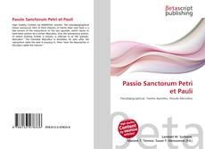 Passio Sanctorum Petri et Pauli kitap kapağı