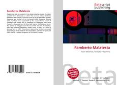 Bookcover of Ramberto Malatesta