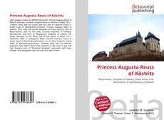 Couverture de Princess Augusta Reuss of Köstritz