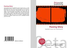 Bookcover of Passing Glory