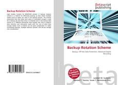 Обложка Backup Rotation Scheme