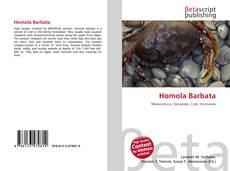 Bookcover of Homola Barbata