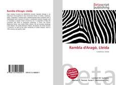 Bookcover of Rambla d'Aragó, Lleida