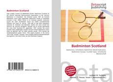 Bookcover of Badminton Scotland