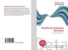 Bookcover of Rambla de Catalunya, Barcelona