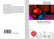 Bookcover of Rambla del Poyo