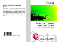 Bookcover of Rambla Just Oliveras (Barcelona Metro)