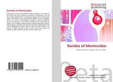 Bookcover of Rambla of Montevideo