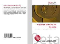 Portada del libro de Victorian Minister for Housing
