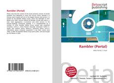 Bookcover of Rambler (Portal)