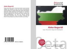 Bookcover of Aleko Bogoridi