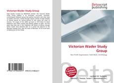 Обложка Victorian Wader Study Group